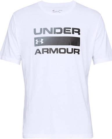 Pánske tričko Under Armour Team Issue Wordmark SS White - S