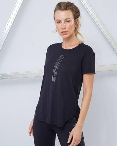 LABELLAMAFIA Dámske tričko Techwear Vibes Black  S