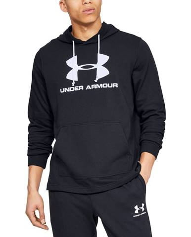 Under Armour Sportstyle Terry Logo Hoodie M 1348520-001  S