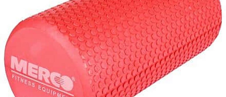 Yoga EVA Roller jóga válec červená Délka: 30 cm